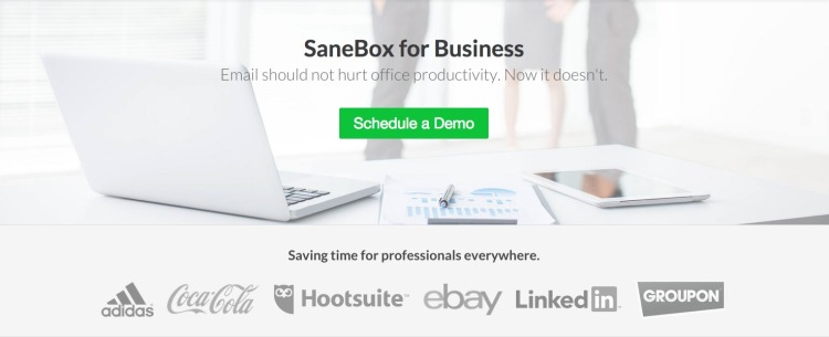 SB for Biz - Schedule Demo - Web