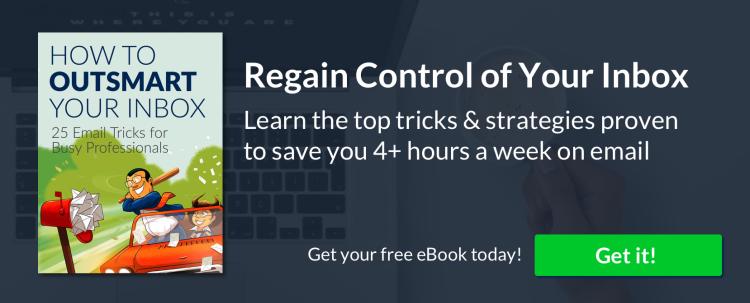 Content upgrade (25 emails hacks)