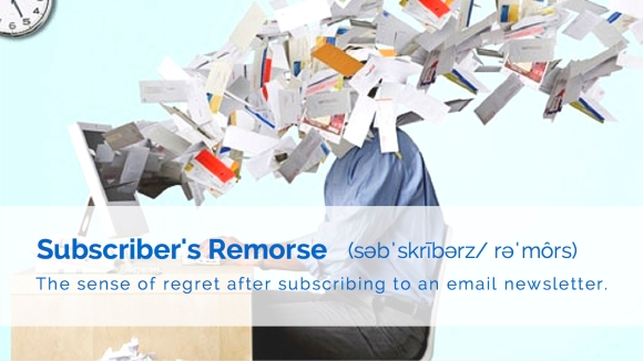 SaneBox Email Wall of Shame - Subscriber's Remorse