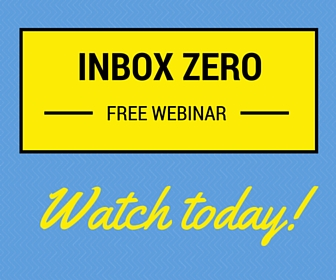 Watch the Inbox Zero Webinar