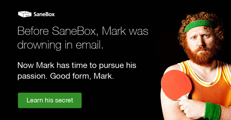 SaneBox email management stories