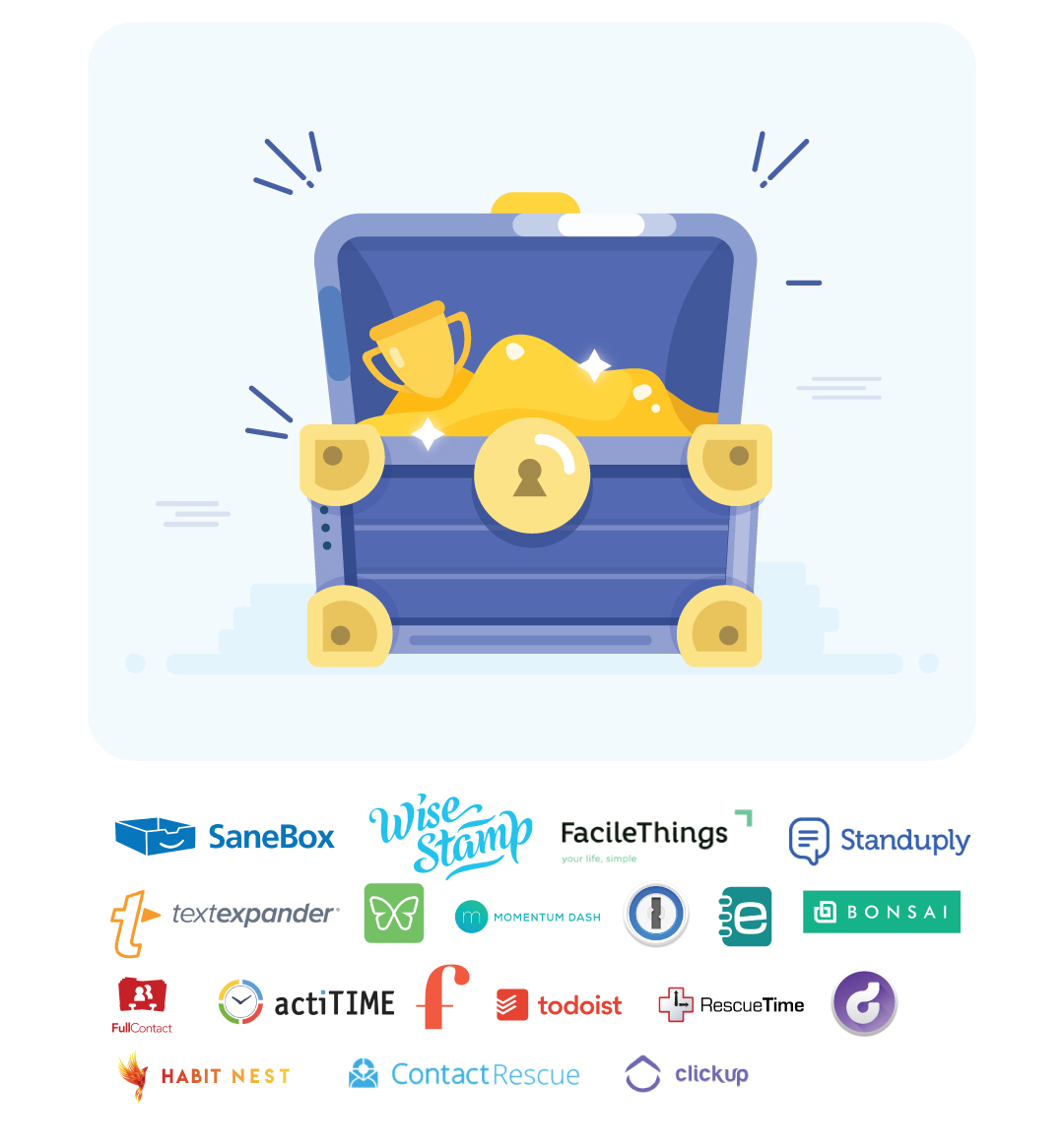 SaneBox & Partners present Productivity Gold for 2019 ($200+