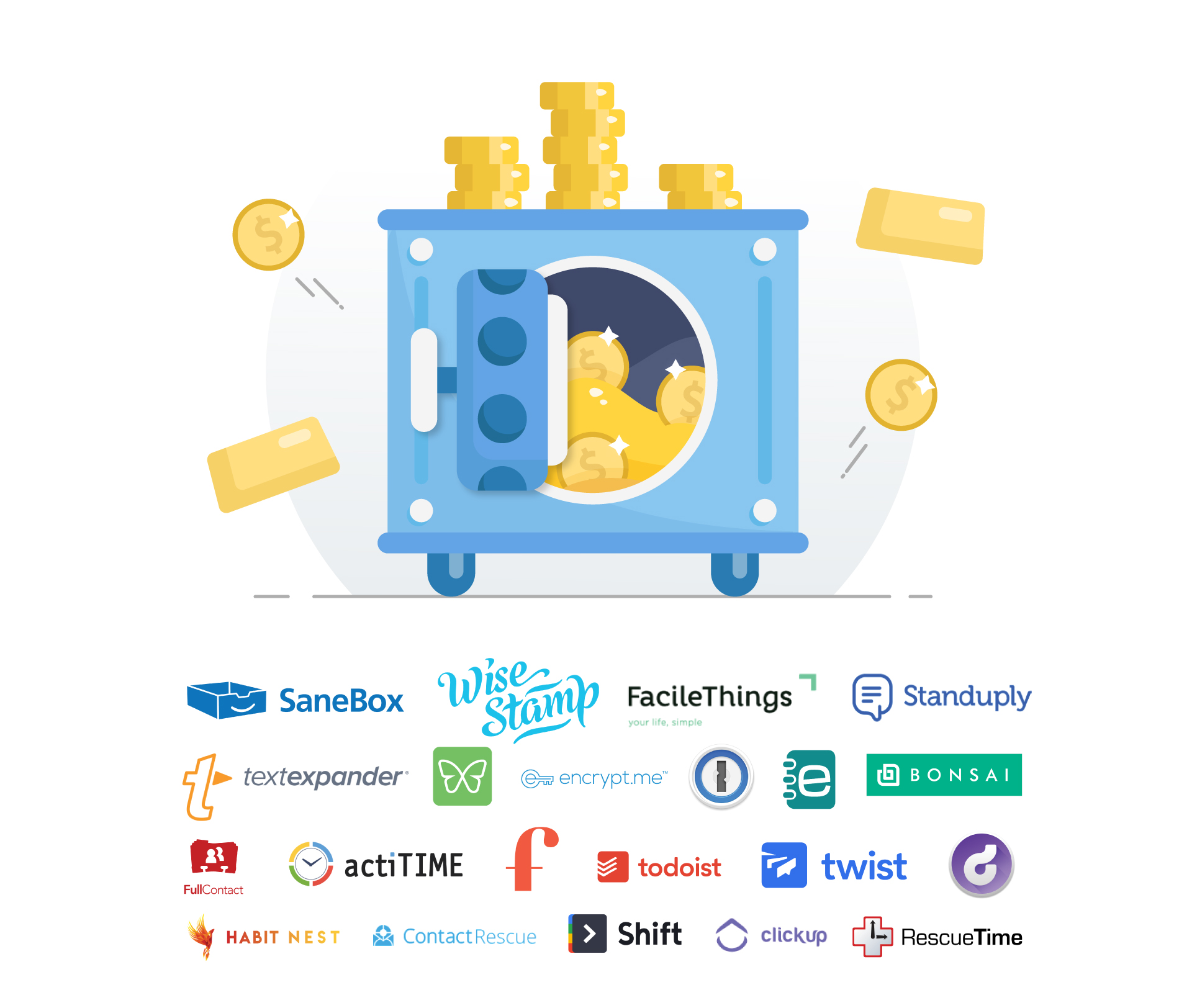 SaneBox & Partners Present Productivity Gold ($200+ in